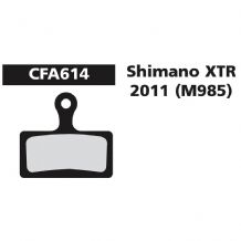 EBC CFA614 SHIMANO FIT DISC BRAKE PADS - 3 COMPOUND CHOICES